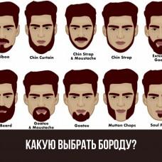 Какой стиль бороды лучше выбрать?
