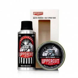 Набір Uppercut Deluxe Pomade & Salt Spray Duo