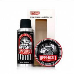 Подарочный набор Uppercut Matte Pomade & Salt Spray Duo