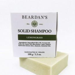 Твердий шампунь для бороди Lemongrass