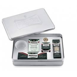 Подарочный набор для бритья Proraso classic shaving set metal