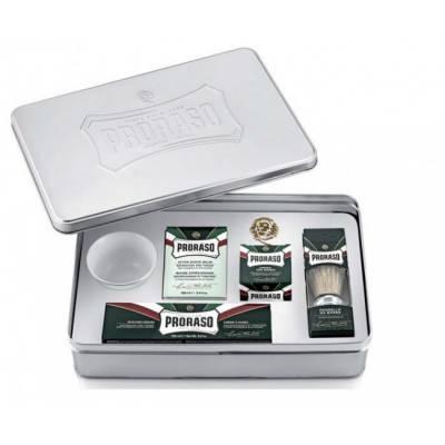 Набір подарунковий для гоління Proraso Classic Shaving Set Metal