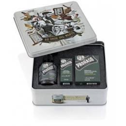 Набір подарунковий для догляду за бородою Proraso beard kit Cypress&Vetyver