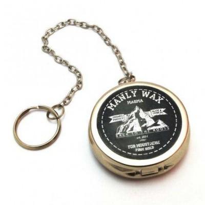 Віск для вусів і бороди Manly Wax Magma (у вигляді годинника)
