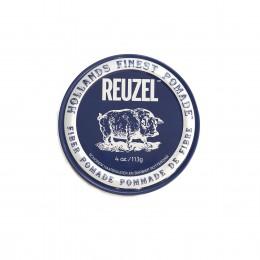 Помада для укладання волосся матова Reuzel Fiber dark blue