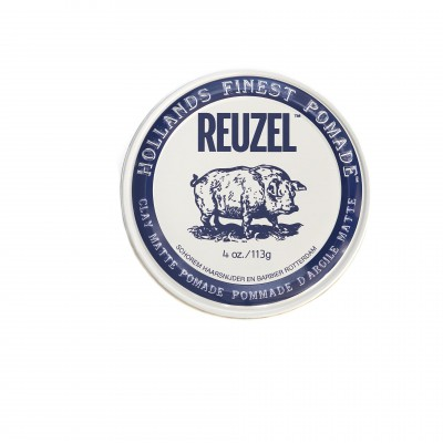 Глина для волос Reuzel CLAY MATTE Pomade Strong Hold