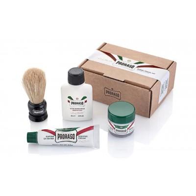 Набор для бритья Proraso shave travel kit refresh