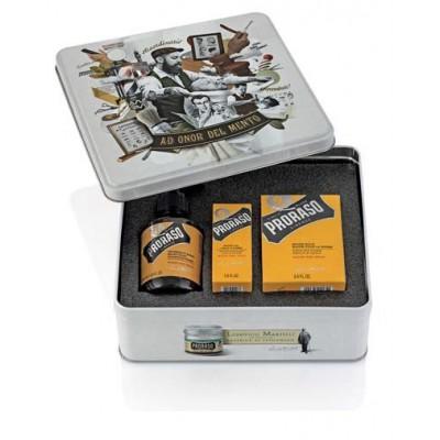 Подарочный набор для ухода за бородой Proraso beard kit Wood and Spice