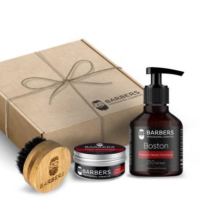 Подарочный набор для мужчин Barbers Men's Grooming Set