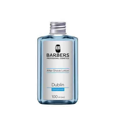 Тонізуючий лосьйон після гоління Barbers Dublin 100 мл