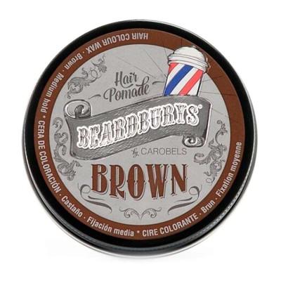 Віск BROWN тонуючий з коричневою фарбою 100 мл BEARDBURYS