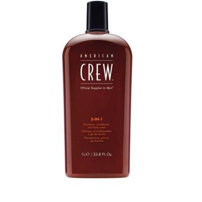 Шампунь American Crew 3 IN 1 Shampoo 1000 мл