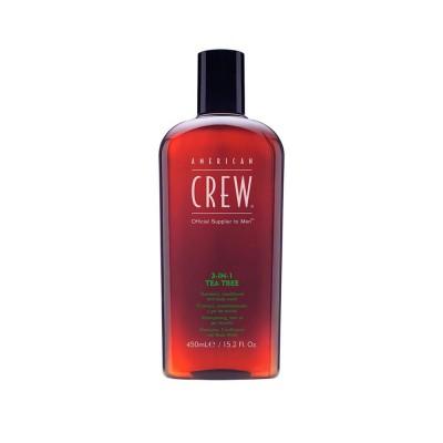 Шампунь American Crew 3 IN 1 Tea Tree Shampoo 450 мл