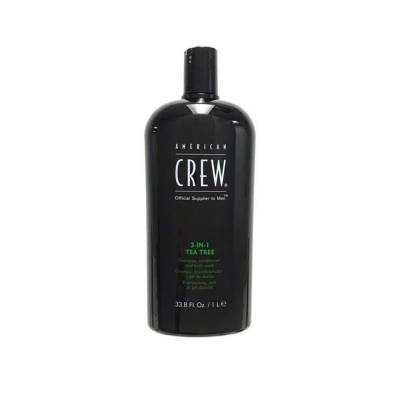 Шампунь American Crew 3 IN 1 Tea Tree Shampoo 1000 мл