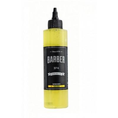 Гель для гоління Marmara N.4 shave gel 250 мл