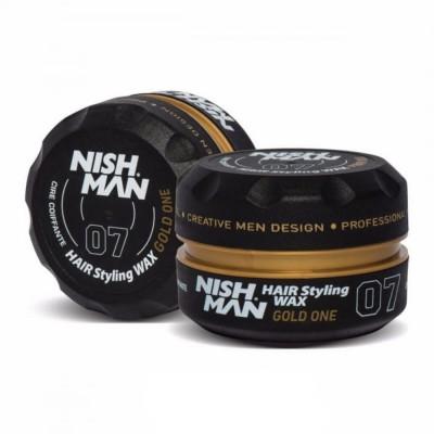 Віск для укладки Nishman Hair Wax 07 Gold One 150 мл