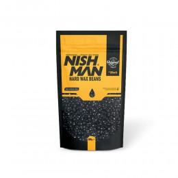 Воск для депиляции Nishman Hard Wax Beans Black 500g