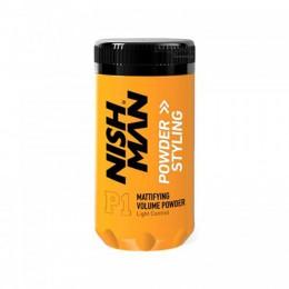 Пудра для укладки Nishman Matte Finish Volume Powder And Styling 20 г