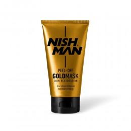 Золота маска Nishman Peel-Off Gold Mask 150ml