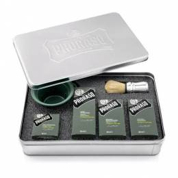 Набор для бритья Proraso Shaving Metal Kit Cypress & Vetyver