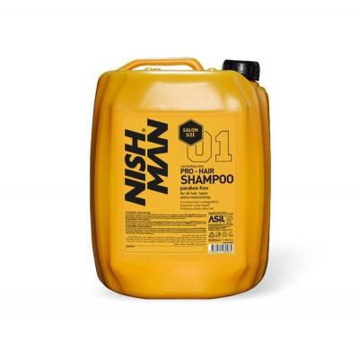 Шампунь Nishman Pro-Hair Shampoo 5000ml