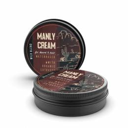 Крем для бороды и волос Manly Cream Wild Blend 40 мл