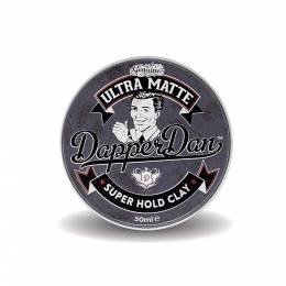 Глина Dapper Dan Ultra Matte Super Hold Clay 50 мл