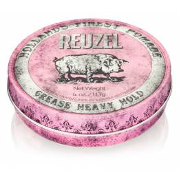 Воск Reuzel Pink Grease Heavy Hold Pomade 113 г