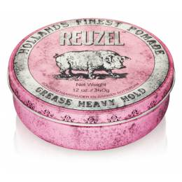 Воск Reuzel Pink Grease Heavy Hold Pomade 340 г