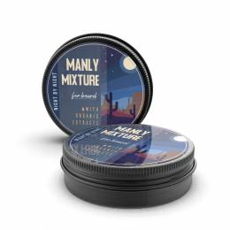 Мікстура (масло) для бороди Manly Mixture Night By Night Blend 40 мл