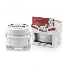 Крем до гоління Proraso Pre Shave Cream Sensitive Green Tea 100 мл