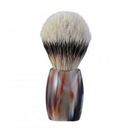 Помазок Dovo Solingen Buffalo Horn сріблястий ворс борсука 918115