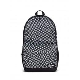 Рюкзак CITY| черный с белой ломаной клеткой 3/19