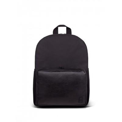 Рюкзак SOFT с карманом с эко-кожи I черный 4/19