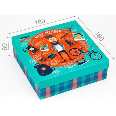 Подарочная коробка True Man