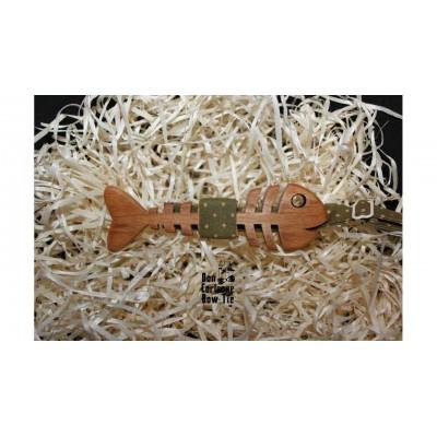 Бабочка деревянная Рыба