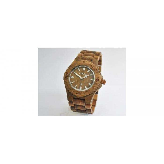 Деревянные часы BeWell 1