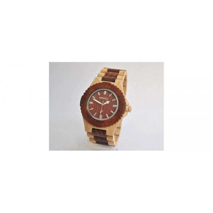 Деревянные часы BeWell 2