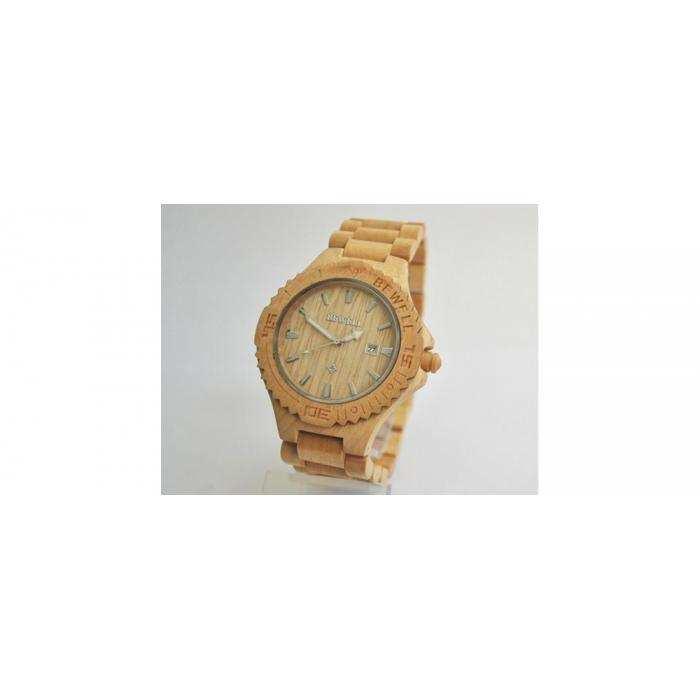 Деревянные часы BeWell 3