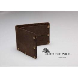 Кошелек минимализм Into the Wild handmade 1