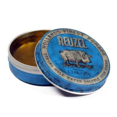 Помада для волос Reuzel Strong Hold High Sheen (Blue)