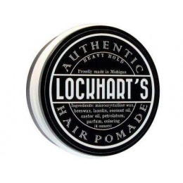 Помада для волосся Lockhart's Authentic Heavy Hold Hair Pomade