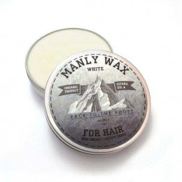 Віск для волосся Manly Wax White