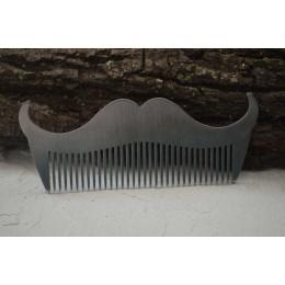 Сталевий гребінь для бороди і вусів