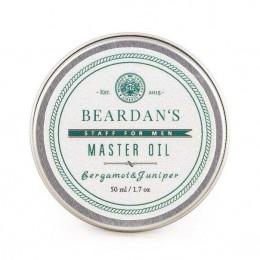 Мягкий бальзам Beardan's Master Oil Bergamot & Juniper