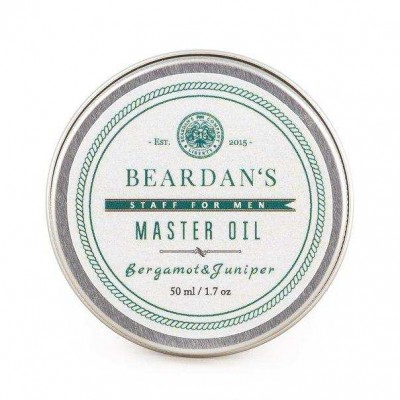 М'який бальзам Beardan's Master Oil Bergamot & Juniper