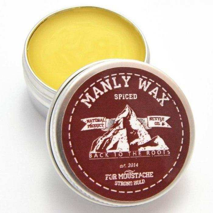 Воск для усов и бороды MANLY WAX Original Spiced