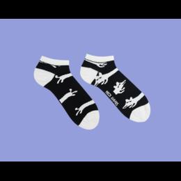 Короткие носки BICKER DARK SHORT