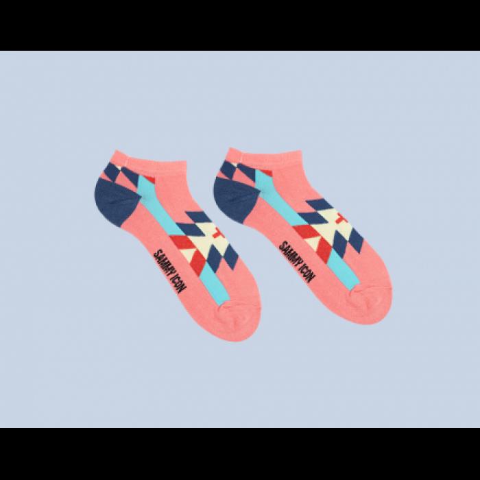 Короткие носки CRUZ PINK SHORT
