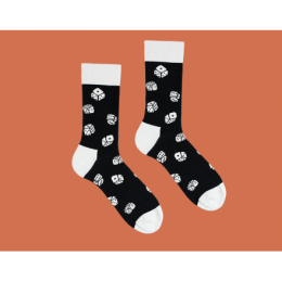 Длинные носки DICE
